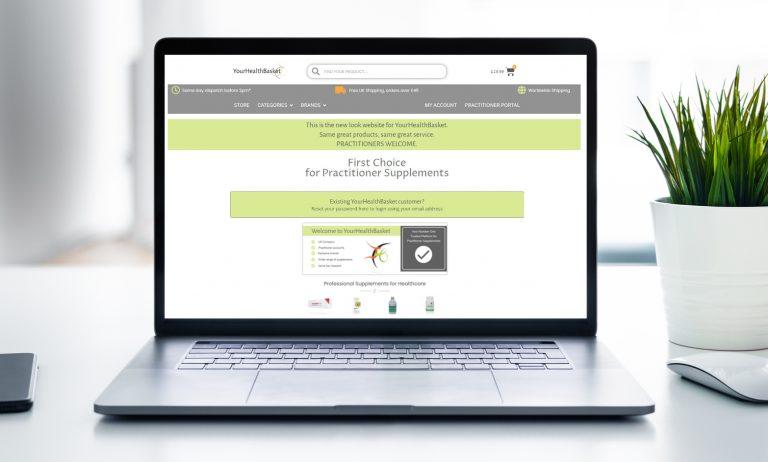Professional Supplements UK practitional portal yourhealthbasket