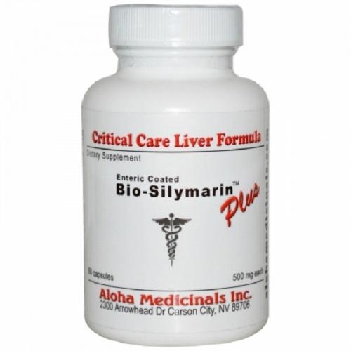 Bio-Silymarin Plus - Pure Milk Thistle Extract (500mg) - 60 Caps - Aloha Medicinals