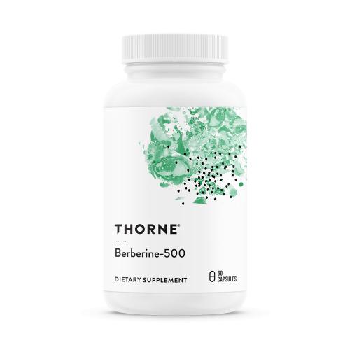 Berberine-500 - 60 Veg Caps - Thorne