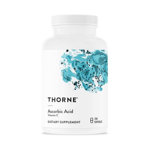 Ascorbic Acid (1000mg) - 250 Caps - Thorne
