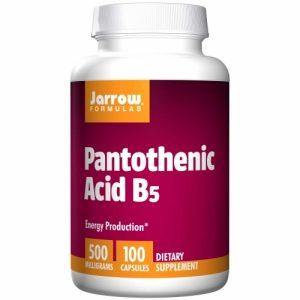 Pantothenic Acid B5 500mg