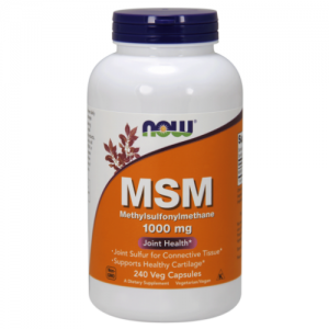 MSM, 1000 mg, 240 Capsules - Now Foods
