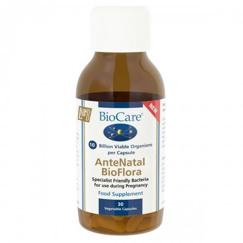 AnteNatal BioFlora (Probiotic) 30 Caps - BioCare