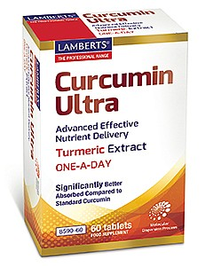 Curcumin Ultra One-a-day Turmeric Extract - 60 Tablets - Lamberts