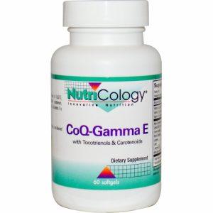 CoQ-Gamma E 60 Gels - Nutricology / ARG