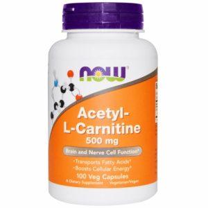 Acetyl-L-Carnitine 500mg
