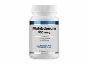 Molybdenum 500mcg 60 Caps - Douglas Labs