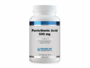 Pantothenic Acid 500 mg 100 Capsules - Douglas Labs