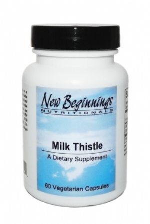 Milk Thistle 200 mg-60 capsules New Beginnings