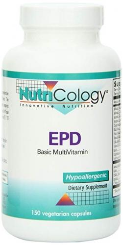 EPD basic multivitamin 150 vCaps (EPDBA) - Nutricology  / ARG