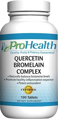 Quercetin / Bromelain Complex - 100 tabs - ProHealth