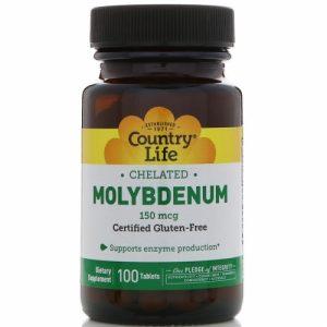 Chelated Molybdenum