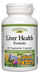 Liver Health Formula, 60 Caps - Natural Factors - SOI**