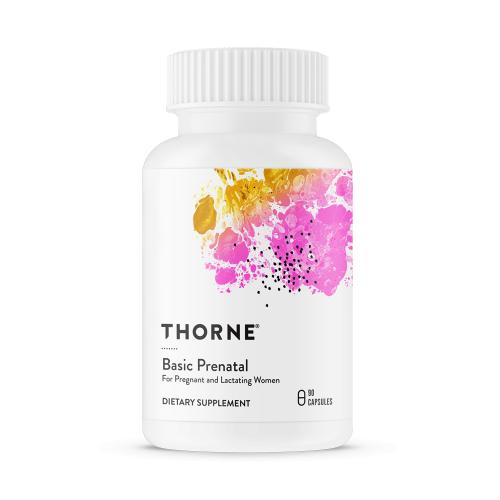 Basic Prenatal - 90 Veg Caps - Thorne