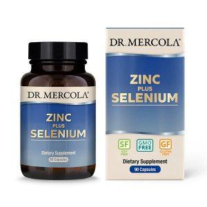 Zinc plus Selenium - 90 Capsules - Dr Mercola