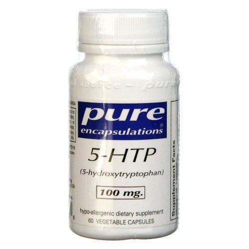 5-HTP 100 mg 60 veg capsules - Pure Encapsulations