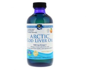 Arctic Cod Liver Oil (Orange) 237ml - Nordic Naturals