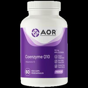 Coenzymes Q10 100mg - 60 Capsules - AOR