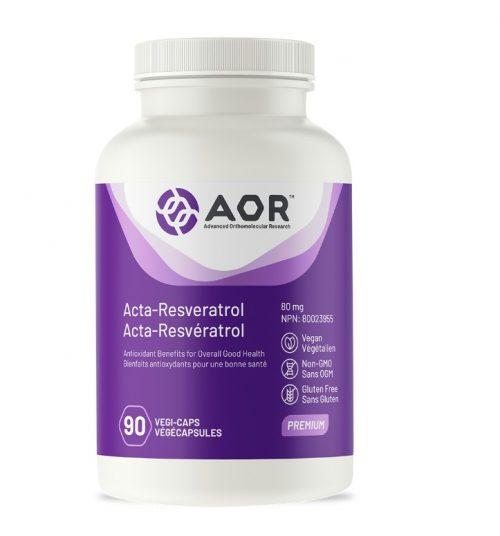 Acta-Resveratrol - 90 Capsules - AOR