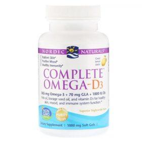 Complete Omega-D3 (Lemon) 1000 mg