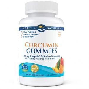 Curcumin (Mango) 60 Gummies - Nordic Naturals
