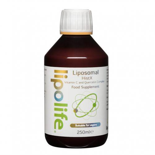 HistX - Liposomal Vitamin C and Quercetin - 250ml - Lipolife