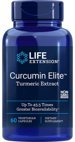 Curcumin Elite Turmeric Extract (60 capsules) - Life Extension