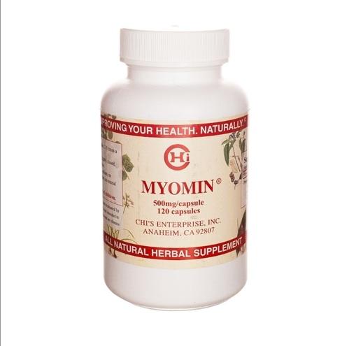 Myomin - 120 capsules - Chi's Enterprise