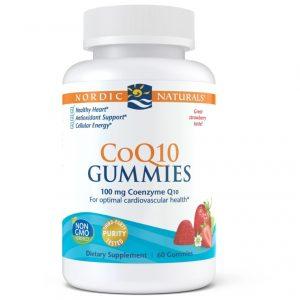CoQ10 (Strawberry) 60 Gummies - Nordic Naturals