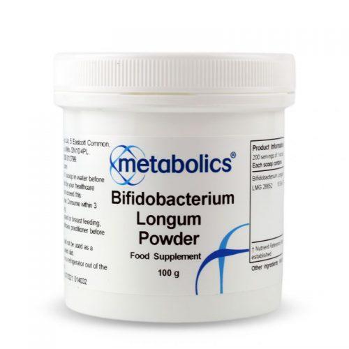Bifidobacterium Longum Powder (100g) - Metabolics