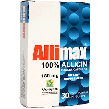 Allimax Capsules (Stabilized Allicin Garlic Extract) - 30 capsules