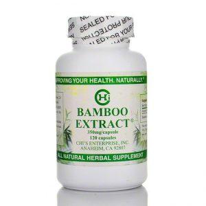 Bamboo Extract - 120 Caps - Chi Health