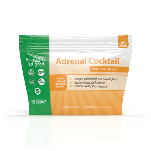 Adrenal Cocktail™ + Whole Food Vitamin C - 60 Stick Packs - Jigsaw Health