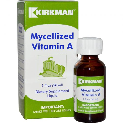 Mycellized Vitamin A Liquid