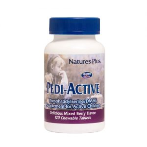 Pedi-Active 120 chewable tablets (Mixed Berry Flavour) - Nature's Plus