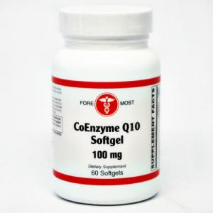CoEnzyme Q10 (100 mg) 60 softgels - Holistic Health