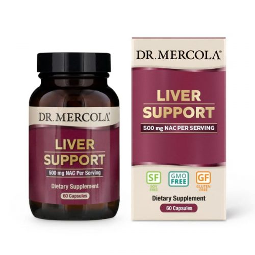 Liver Support (60 caps per Bottle): 30 Day Supply - Dr Mercola
