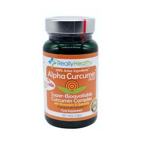 AlphaCurcumin Plus 60 Capsules - Really Healthy Co