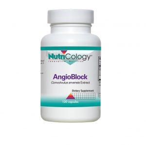 Angioblock / VascuStatin Formula - 120 Capsules - ARG / Nutricology