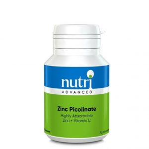 Zinc Picolinate 90 Capsules - Nutri Advanced