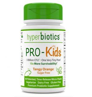 PRO-Kids ENT (Tangy Orange) 60 Chewable Tablets - Hyperbiotics
