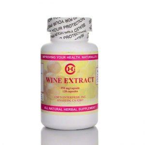 Wine Extract - 120 Capsules - Chi's Enterprise SOI**