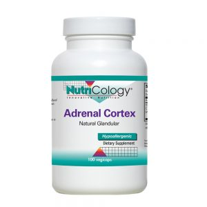 Adrenal Cortex - 100 Capsules - Nutricology
