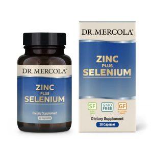 Zinc plus Selenium - 30 Capsules- Dr. Mercola