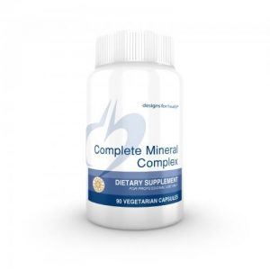 Complete Mineral Complex - 90 caps - Designs for Health